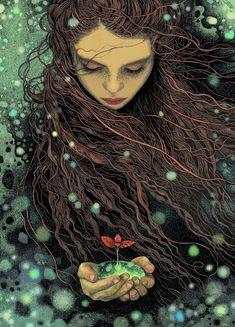 Magdalena Korzeniewska(bubug) #japon #illustration #art