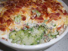 Seven Layer Salad with Mayonnaise recipes | Layer Salad
