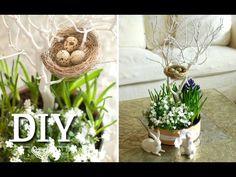Osterdeko basteln: DIY - Hübsche Blumendeko für Ostern selber machen | Deko Kitchen - YouTube