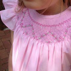 Smocked vestido vestidos de niñas