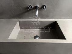 Lavatório de Casa de Banho em Microcimento- 4Udecor - Microcimento 4Udecor