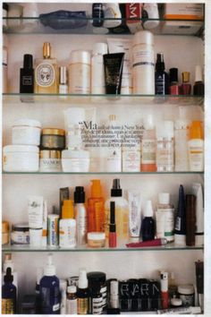 Store all your perfume in your medicine cabinet.  I have a big medicine cabinet too!