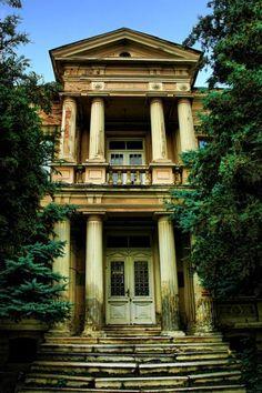 Abandoned House in Monastiri, Cyprus.