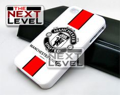 Manchester United White Design iPhone by TheNextLevels on Etsy, $15.50