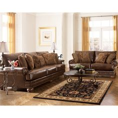 Signature Design By Ashley 9920038 DuraBlend® Sofa | ATG Stores