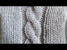 Κοτσίδα η Πλεξούδα .. - YouTube Knitting, Youtube, Fashion, Moda, Tricot, Fashion Styles, Breien, Stricken, Weaving