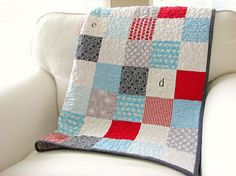 i just love this boy quilt