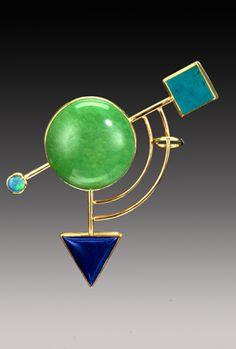 Yumi Ueno Art Jewelry & Metal : Jewelry Gallery : Brooch