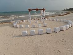 You can customize your #wedding with special seating options at Dreams Tulum