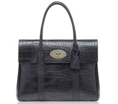 a70db7f6521e Mulberry Bayswater Crocodile Bag Mulberry Shoulder Bag
