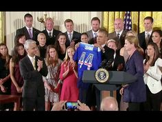 Endorse This: Obama Salutes The 'Badass' Women's Soccer Team
