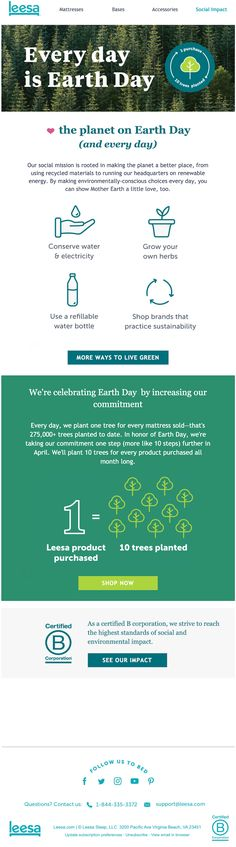 5 Earth Day Emails to Engage Your Customers and Save the Planet – Cold Email New Earth, Earth Day, Change Email, Cold Email, About Climate Change, Best Email, Happy Earth, Email Campaign, Email Templates