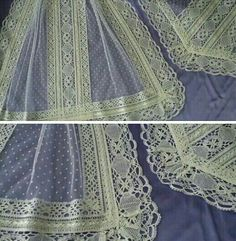 Manteletas Heirloom Sewing, New Pins, Vintage Antiques, Needlework, Aragon, Stitch, Detail, Beautiful, Design