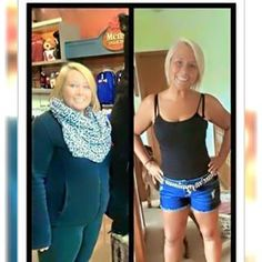 LOOK at these awesome results from the triple threat!!! Greens, Thermofit and Fat fighters Call or text 520-840-8770 http://bodycontouringwrapsonline.com/weight-loss/it-works-triple-threat-weight-loss-challenge
