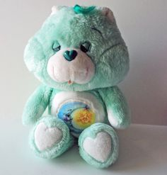 Care Bears Sleepy Bear Stuffed Toy Plush by SaturdayMorningM, $26.00