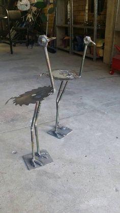 Old Tools Sculpture.