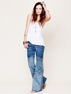 Free People Seamed Bambi Flare at Free People Clothing Boutique
