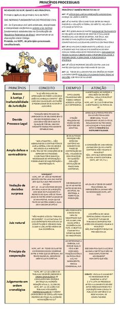 01 - Princípios Processuais Law Study, Novo Cpc, Leis, Salvador, Law School, Dyslexia, Military, Savior, El Salvador