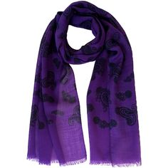 Udine-paisley lightweight scarf (1.520 ARS) ❤ liked on Polyvore featuring accessories, scarves, lightweight shawl, light weight scarves, paisley scarves, lightweight scarves and paisley shawl