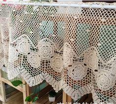 modele rideau breton crochet gratuit - Recherche Google