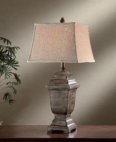 33.5&#34 Whitmore Resin Table Lamp - FFO Home