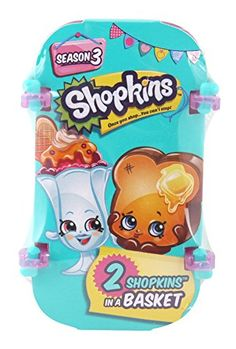 Start your collection with the Shopkins two Pack: We're 2-cute!! Comes with 2 super cute Shopkins a shopping basket to fill and a Shopkins list collector's guide! Shop to it!...