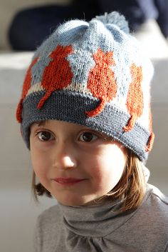 Ravelry: White whiskers (Cats white whiskers) pattern by Christine de Savoie Easy Knitting Patterns, Knitting Projects, Hat Patterns, Bug Hats, Knitted Hats, Crochet Hats, Cat Hat, Baby Knitting, Free Knitting