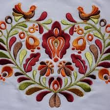 Výsledok vyhľadávania obrázkov pre dopyt slovenske ludove vysivky Folk Embroidery, Embroidery Patterns, Machine Embroidery, Sugar Art, Cloth Bags, Scandinavian Design, Hand Stitching, Vibrant Colors, Pattern Design