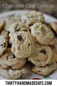 Summer Service Project ideas for Kids - Write Thank You Notes & Deliver with Chocolate Chip Cookies