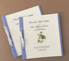 Diy Wedding Programs Free Online Invitationswedding