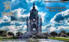 El Monumento Brunswick, declarado monumento protegido, impresiona por su arquitectura y su historia. El mausoleo construido al estilo neogótico es una reproducción histórica de la tumba familiar de los Scaligeri en la Verona italiana del siglo XIV, siendo erigido a petición del Duque de Brunswick. #RomarcaEnvios