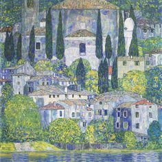 Landscapes / Kirche in Cassone 1913