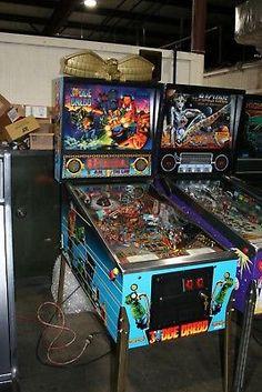 1993 William Judge Dredd Pinball Arcade Vintage Machine WORKING-CONDITION  (eBay Link)