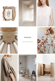 Inspiration moodboard in beige hues curated by Eleni Psyllaki for My Paradissi Creative Inspiration, Color Inspiration, Moodboard Inspiration, Web Design, Instagram Design, Instagram Story, Editorial Layout, Trendy Colors, Mood Boards