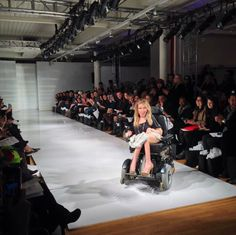 A Gorgeous Model Worked The Runway At Fashion Week. You May Notice Something Different About Her. via @Upworthy