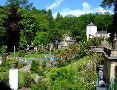 Portmeirion Gardens, Wales