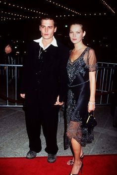 The 41 most stylish couples of ALL time: Johnny Depp and Kate Moss