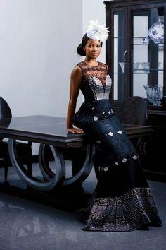 Gown by pistis ghana
