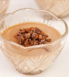 Daim-pannacotta - Reseptit - Keksihylly Desserts, Jello, Sweet Tooth, Pudding, Treats, Cookies, Baking, Recipes, God