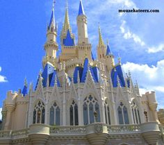 Love Disney's Cinderella Castle? Here's an article with fun facts and  beautiful photos of murals, moats, and magic! (article)