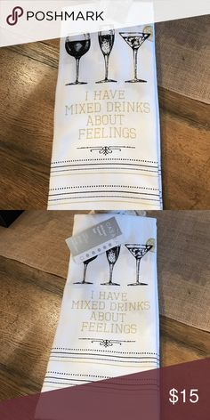 Set of 2 dish towels . Brand new with tags. Set of 2 cute dish towels. Casaba Other
