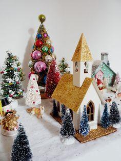 cute christmas village