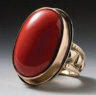 Cody Sanderson – December 2010 | Four Winds 14k gold coral ring