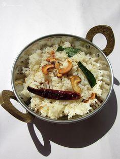 Nariyal chawal - Kokosova ryza / Coconut rice