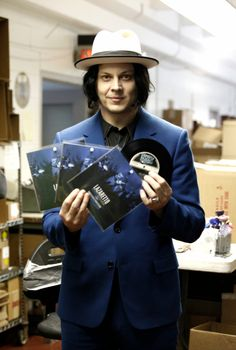 Jack White Returns: Record Store Day at Third Man Records