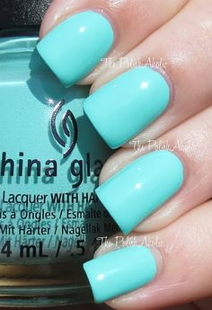 China Glaze Too Yacht To Handle (Summer 2013 Sunsational Collection)