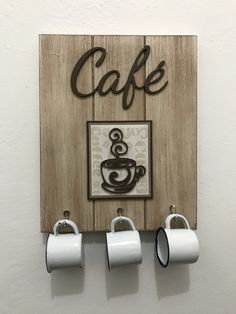 Coffee Bar Home, Coffee Shop, Diy Home Crafts, Wood Crafts, Decoration Plante, Decoupage Vintage, Coffee Signs, Tray Decor, Handmade Home Decor