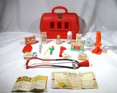 1960's Toy Nurses Kit.