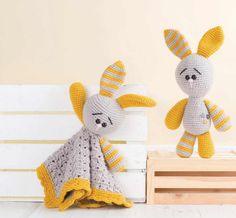 Clover the Bunny Amigurumi Crochet Pattern