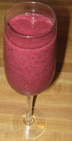 blueberry grapefruit smoothie, healthy and yummy